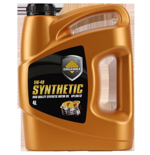 olej silnikowy organika synthetic 5w-40 wielosezonowy olej syntetyczny
